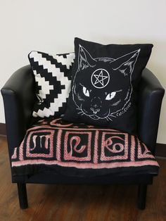 Cat Coven Pillow - Gypsy Warrior