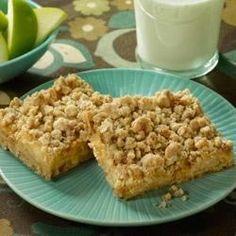 Caramel Apple Crunch Bars - Allrecipes.com