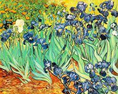 """""""Irises(1889)""""  Vincent Van Gogh"""
