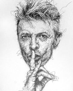 But one artist & illustrator from Kuala Lumpur made scribbling into art. Say hi to Vince Low, famously known for his stunning portraits. Human Figure Sketches, Figure Sketching, Cartoon Sketches, Art Sketches, Vince Low, Scribble Art, Photoshop, Portraits, Wow Art