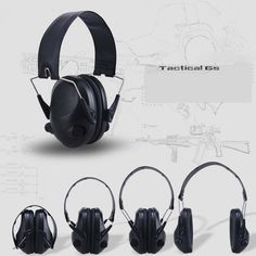 Ear Protector Camo Electronic Hearing Protection Earmuffs Noise Reduction Sports Shooting Hunting Tactical Ear Muff Ear Protector For Hunting