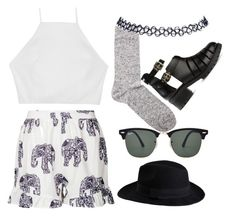 """""""Untitled #28"""" by llovinq ❤ liked on Polyvore featuring Chiara Ferragni, rag & bone, Missguided, Étoile Isabel Marant, Pieces, Ray-Ban and Wet Seal"""