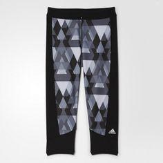 Rebel Sport - adidas Womens Techfit All Over Print Tight Adidas Women, Tights, Pajama Pants, Pajamas, Cap, Clothes For Women, Sports, Rebel, Shopping