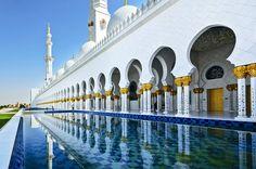 Abu Dhabi in the United Arab Emirates