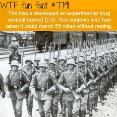 Nazi super soldiers - WTF fun facts