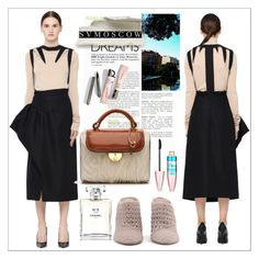 """""""Svmoscow"""" by sabine-rose ❤ liked on Polyvore featuring Maison Margiela, Haider Ackermann, Maybelline and Chanel"""