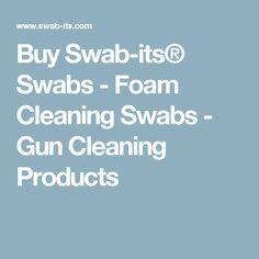 Buy Swab-its® Swabs - Foam Cleaning Swabs - Gun Cleaning Products