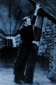 Boris Karloff as Frankenstein's Monster, 1931.