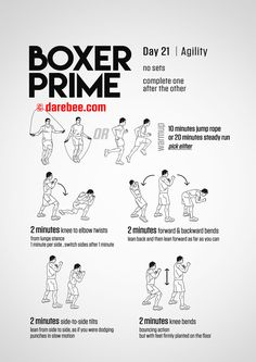 Fitness Program - Physical Fitness: More Than Just Crunches And Protein Shakes - Exercise Bike Workout Boxing Training Workout, Home Boxing Workout, Boxer Training, Mma Workout, Kickboxing Workout, Best Ab Workout, Gym Workout Tips, At Home Workouts, Body Workouts