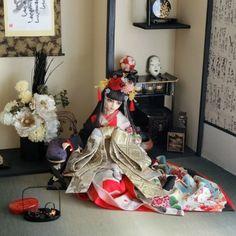 Heian Period, Art Dolls, Art Drawings, Image, Dresses, Home Decor, Anime, Kimonos, Vestidos