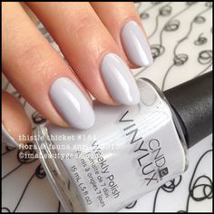 cnd vinylux thistle thicket (natural light with clear skies) - cnd flora & fauna spring 2015. all da swatchin' @ www.imabeautygeek.com