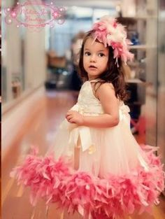 """If I ever have a little girl, I want to dress her like this every day!!! Plus, really cute website for baby girl stuff."" I didn't write that, but I easily could have! I probably don't have girls cuz of this! She's be in pink foofy stuff all the time! Lol"