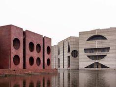 Louis Kahn, National Assembly Building of Bangladesh, 1962