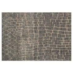 Check out this item at One Kings Lane! Zylia Jute-Blend Rug, Slate