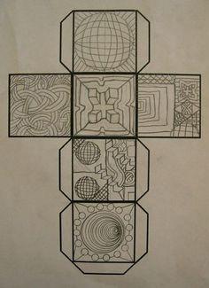 Mr. Ransavage's Art Room: Optical Illusion Art