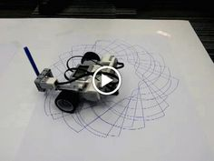 Awesome Spirograph robots using the Gyro Sensor on the new LEGO Mindstorms #EV3 <https://plus.google.com/s/%23EV3> robots. Teachers had so much fun t... - Damien Kee - Google+