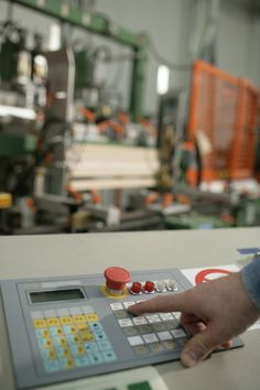 Machinery in Cizeta production department.