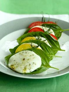 The freshness of your ingredients  heirloom tomatoes, mozzarella balls and basil  makes this simple salad divinely delicious. Ideal for late summer gatherings with friends or as a light weekend lunch with rustic bread and wine.