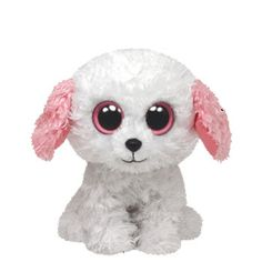Diva Dog Beanie Boo Ty® Diva Dog Beanie Boo's™ It's play time! Our adorable Diva Dog is ready for play time Beanie Boos For Sale, Rare Beanie Boos, Beanie Boo Dogs, Beanie Buddies, Big Eyed Stuffed Animals, Ty Beanie Boos Collection, Ty Peluche, Ty Boos, Bichon Dog