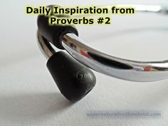 Proverbs 1: King JamesBible Daily Devotion of Proverbs chapter one, Verses 5+6 5 A wise man will hear, and will increase learning; and a man of understanding