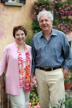 Frances and Edward Mayes. (Steven Rothfeld)