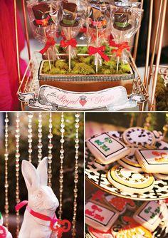 Wonderlandia Dessert Table and Candy Station http://blog.hwtm.com/2012/04/alice-in-wonderland-dessert-table/
