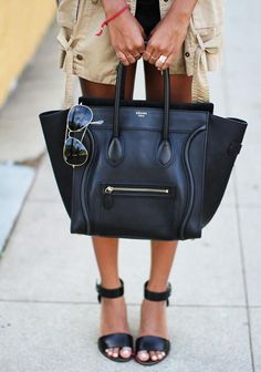 Celine - would make a perfect baby bag.