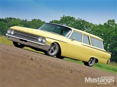 '61 Ford 2dr wagon