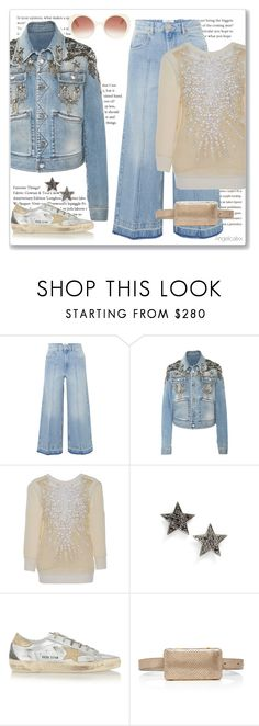 """""""Being a Star"""" by angelicallxx ❤ liked on Polyvore featuring Étoile Isabel Marant, Roberto Cavalli, Naeem Khan, Dana Rebecca Designs, Golden Goose and StarOutfits"""