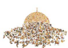 Imran Channa Badshahnama series IV, 2010, pigment inkjet on archival paper, 70x100 cm, ed. 1/3+1AP, ref. 111  3 of 9  <>×