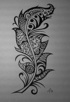 Custom Ink Drawing Black White Commissioned Artwork by tarren Great Tattoos, Trendy Tattoos, New Tattoos, Tatoos, Piercing Tattoo, Piercings, Tattoo Style, Behind Blue Eyes, Tatoo Art