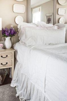 All About Linen Sheets - Cedar Hill Farmhouse