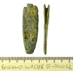 SF-3EE032: Strap end of Anglo-Saxon date