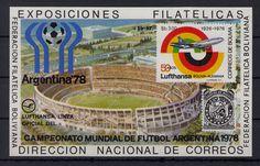997) Beautiful Post Fresh Block Bolivia, Football World Cup Soccer FIFA World Cup  | eBay