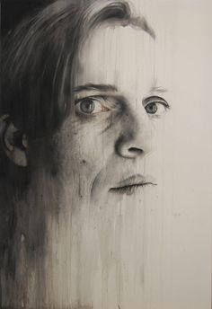 Acrylic and pencil work by Annemarie Busschers.