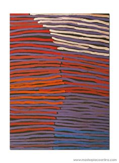 Molly Pwerle / Awelye Atnwengerrp x 2007 - inspiration strip construction Abstract Art Painting, Art Painting, Aboriginal Art, Australian Art, Online Art, Art, Abstract, Contemporary Art, Pattern Art