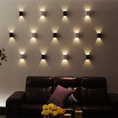 AGPtEK Indoor Energy Saving LED Soft Light Wall Lamp for Hallway Walkway Living Room Bedroom Hall Porch White Image 2 of 3
