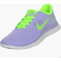 Women's Nike Free Run 4.0+ V2 ($70) ❤ liked on Polyvore
