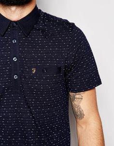 Image 3 ofFarah Polo Shirt with Pocket