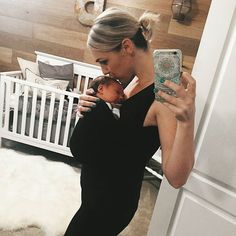"""""""Little man is loving the @lalabubaby soothe shirt! I'm going to kangaroo him til he goes to college #relaximkidding """" >>> We know the feeling, @missmishl, of wanting to hold them forever....Enjoy every precious moment with your newborn <3"""