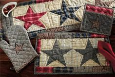 """America Runner Quilted 13x36"""" by Victorian Heart. $17.45. Extensive line of matching items and accessories available! (Search by Collection name). Product measurements and additional details listed in title and/or Product Description below.. America Collection colors: Gunmetal Grey plaid, Cr?me, and Red (not all items have all colors). All cloth items in our collections are 100% preshrunk cotton. All braided items (like rugs, baskets, etc.) are 100% jute. High end quality..."""