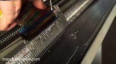Strickmaschine: Socken ohne Naht und Ferse ohne Loch