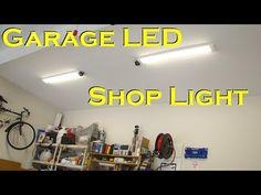 Garage LED Shop Light Fixture – Replaces Fluorescent | Garage Lights