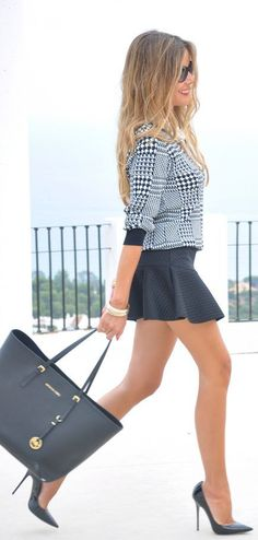 This Is The Best by Te Cuento Mis Trucos. Nice look but I would like the  skirt to be knee length 44f9ae4e9929