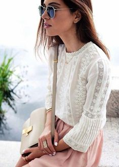 Highlighting the top fashion trends to try this Spring (with links to shop  affordable pieces for each) #TodaysFashionTrends Summer Chic, Spring Summer Fashion, Spring Outfits, Spring Dresses, Summer Fall, Summer Fresh, Spring Style, Looks Street Style, Looks Style
