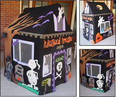 Kids Playhouse Haunted House PVC Pattern Kids Playhouse Haunted House PVC Pattern [410-11-1000] - $8.00 : Parties and Patterns, Fun ideas grow here!