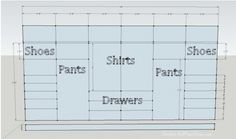 design layout for sawdust girl master closet {sawdustgirl.com}