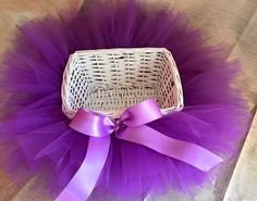 Tutu Basket - Ideal for Baby Shower centre piece or a statement piece for your Bay Nursery