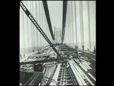 The building of the George Washington Bridge show segment