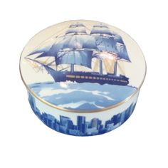 Picard Round Skyline Box Made Exclusively for Shreve, Crump & Low